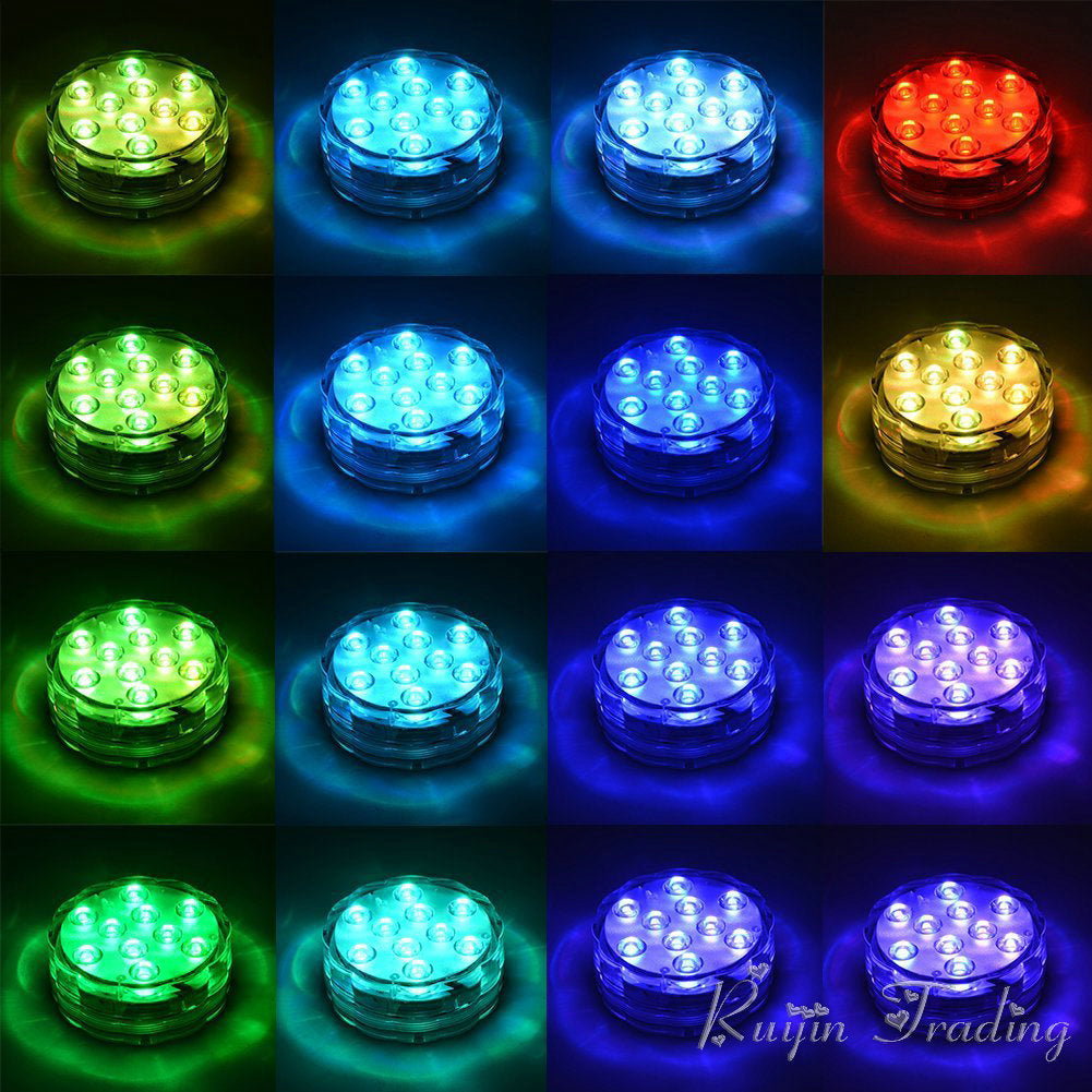 Submersible GT Accent 16 RGB Colors Lights LED hrQCBxtsd
