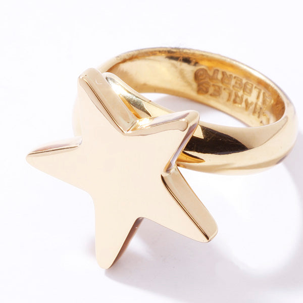 ALCHEMIA STAR ADJUSTABLE RING