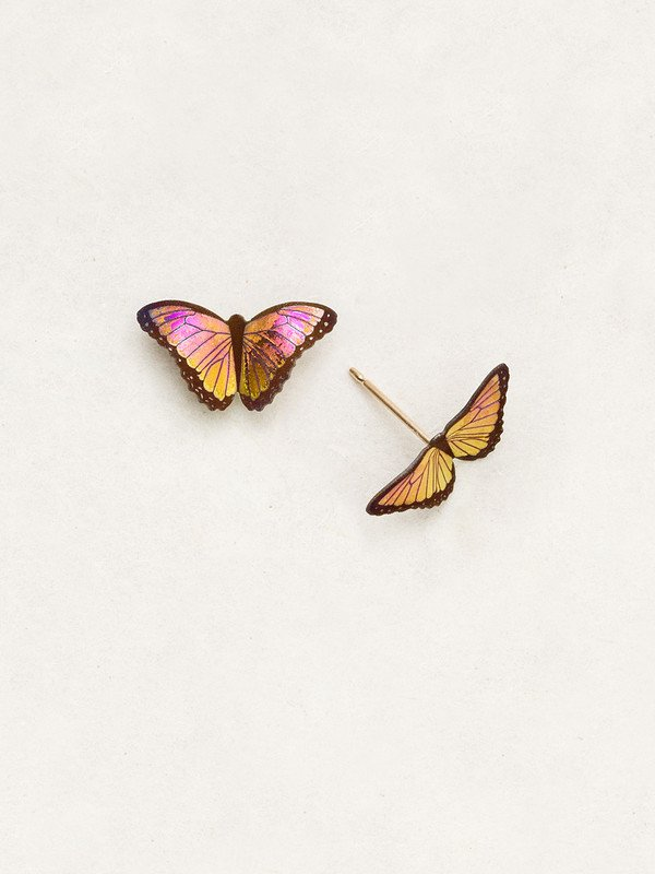 Petite Bella Butterfly Post Earrings
