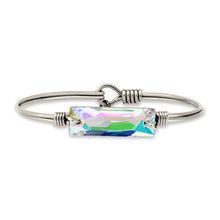 Hudson Bangle Bracelet In Crystal AB