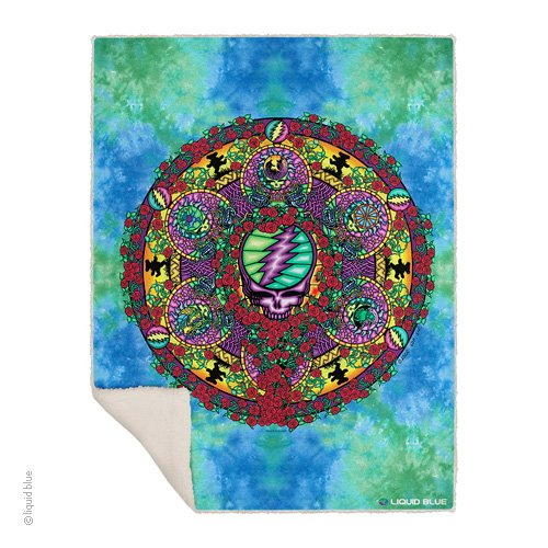 Celtic Mandala Fleece Throw Blanket