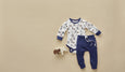 Bear Long Sleeve Bodysuit - Sapling Organic Baby Clothes