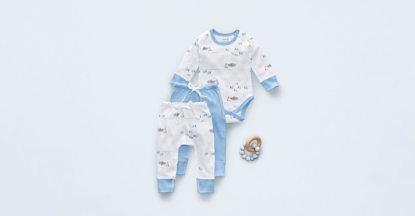 Water Baby Pants - Sapling Organic Baby Clothes