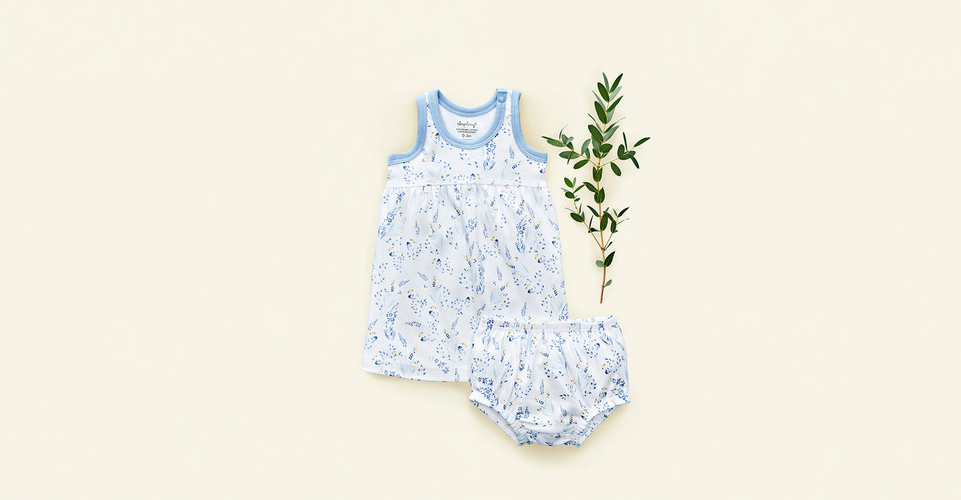 Meadow Bloomers - Sapling Organic Baby Clothes