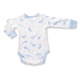 Whale Shark Long Sleeve Bodysuit - Sapling Organic Baby Clothes