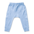 Ocean Blue Pants - NO HEART - Sapling Organic Baby Clothes