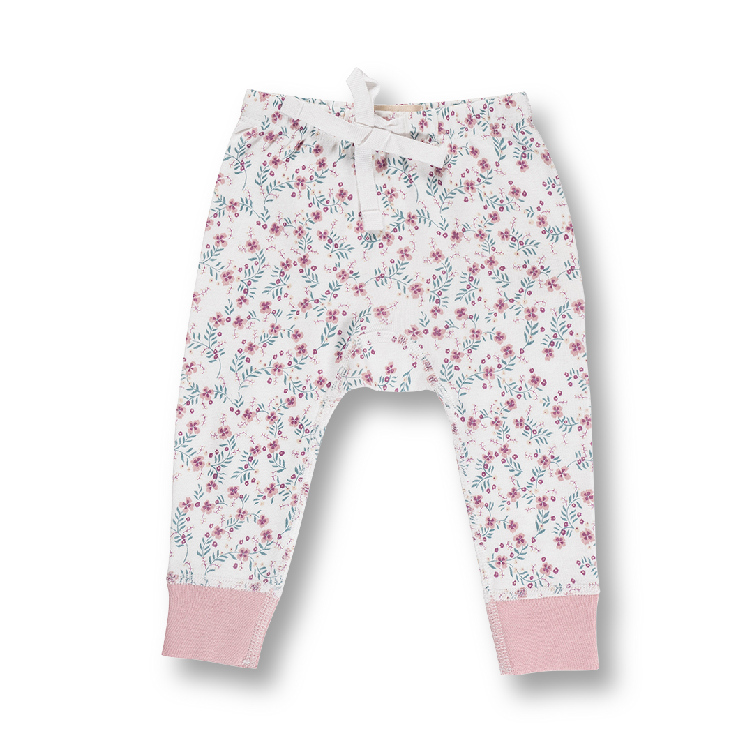 Full Bloom Pants - Sapling Organic Baby Clothes