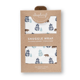 Bear Snuggle Wrap - Sapling Organic Baby Clothes