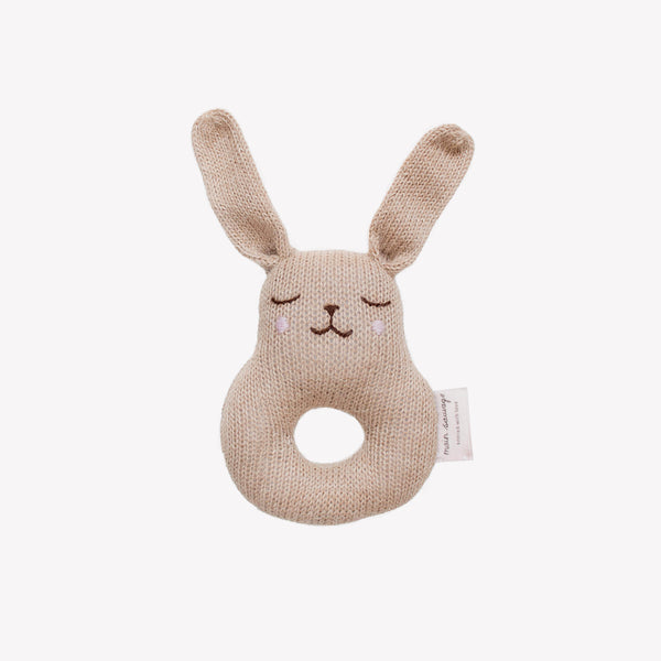Bunny Rattle - Sapling Organic Baby Clothes