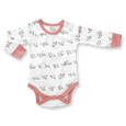 Berry Buds Long Sleeve Bodysuit - Sapling Child Canada