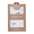 Whale Snuggle Wrap - Sapling Organic Baby Clothes