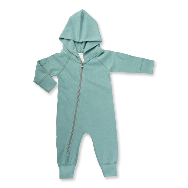 Dusk Green Winter Zipsuit - Sapling Child Canada