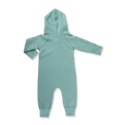 Dusk Green Winter Zipsuit - Sapling Organic Baby Clothes