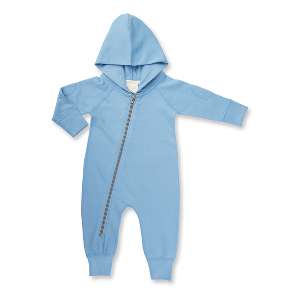 Dusk Blue Winter Zipsuit - Sapling Child Canada