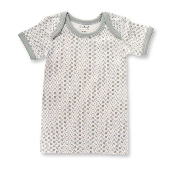 Dove Grey Short Sleeve T-Shirt - Sapling Organic Baby Clothes