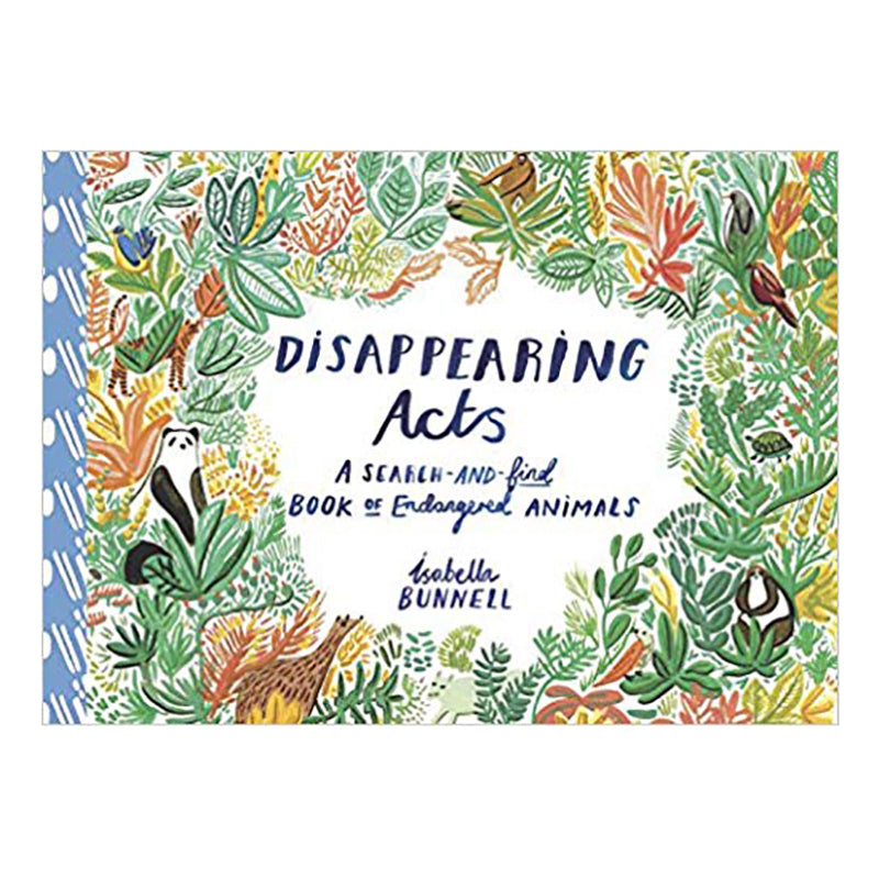 Disappearing Acts: A Search and Find Book of Endangered Animals - Sapling Organic Baby Clothes