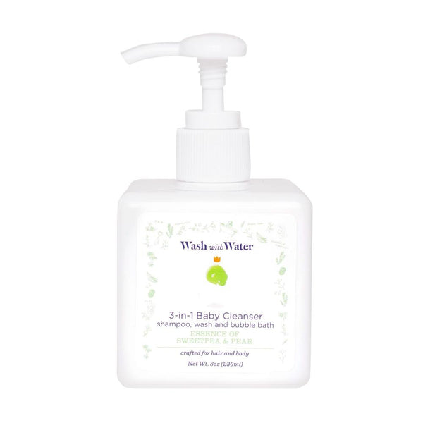 Baby CBD 3-in-1 Cleanser - Sweetpea & Pear - Sapling Organic Baby Clothes
