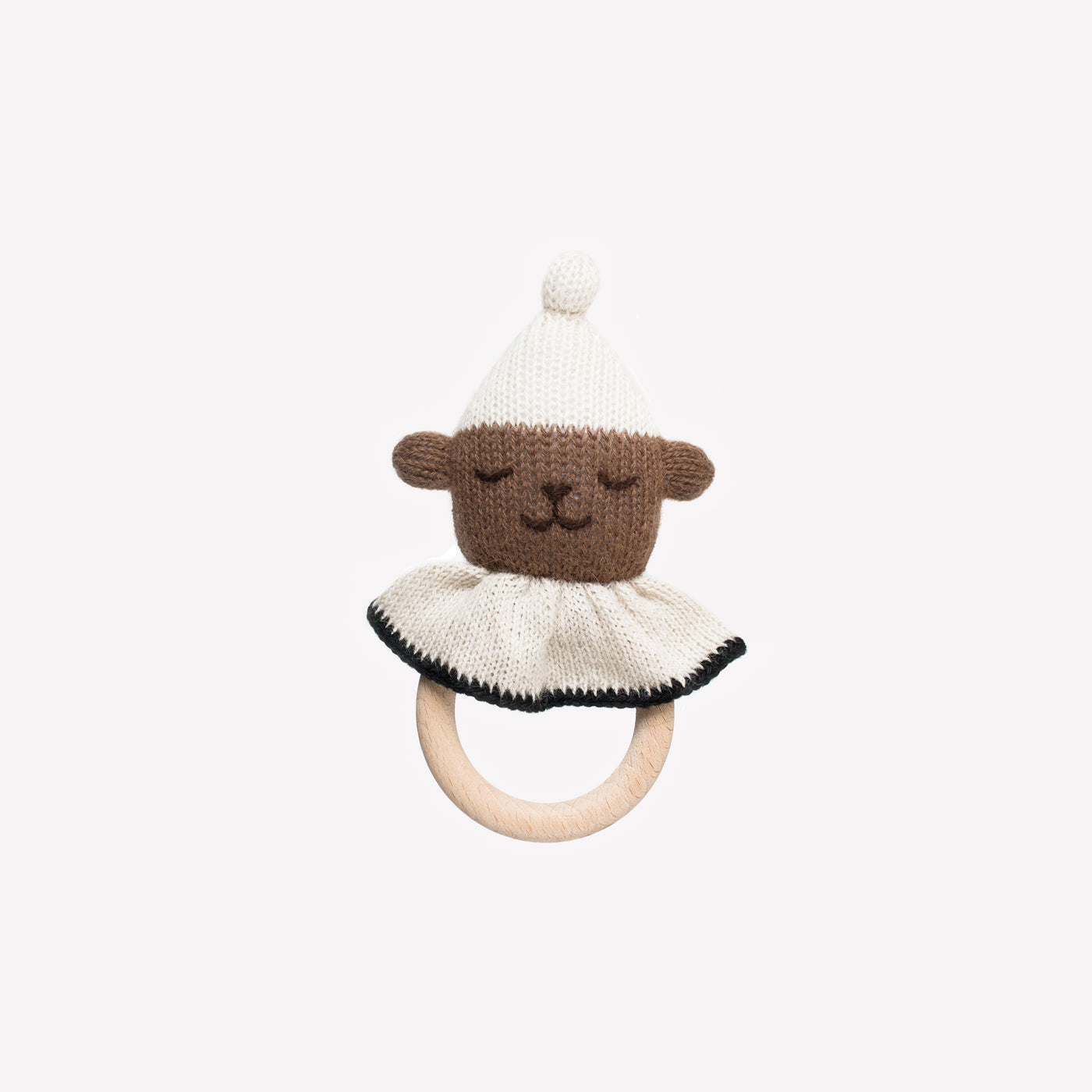 Teddy Teething Ring - Sapling Organic Baby Clothes