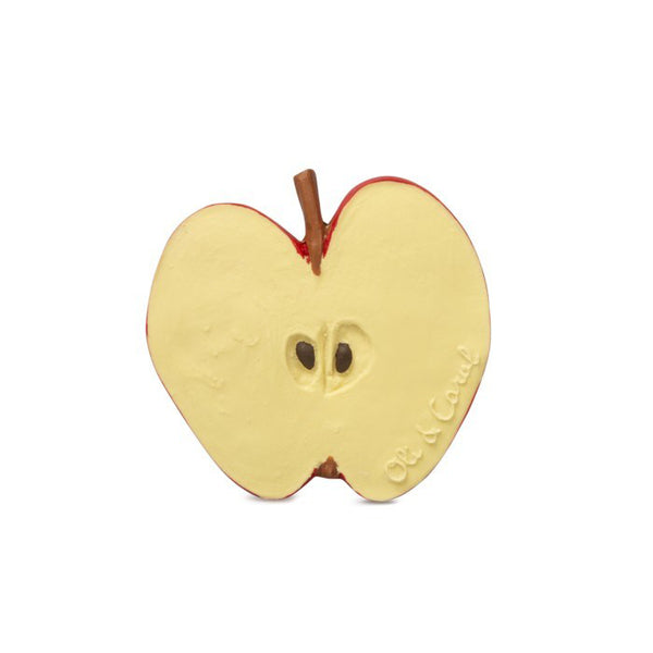 Apple Teether - Sapling Organic Baby Clothes