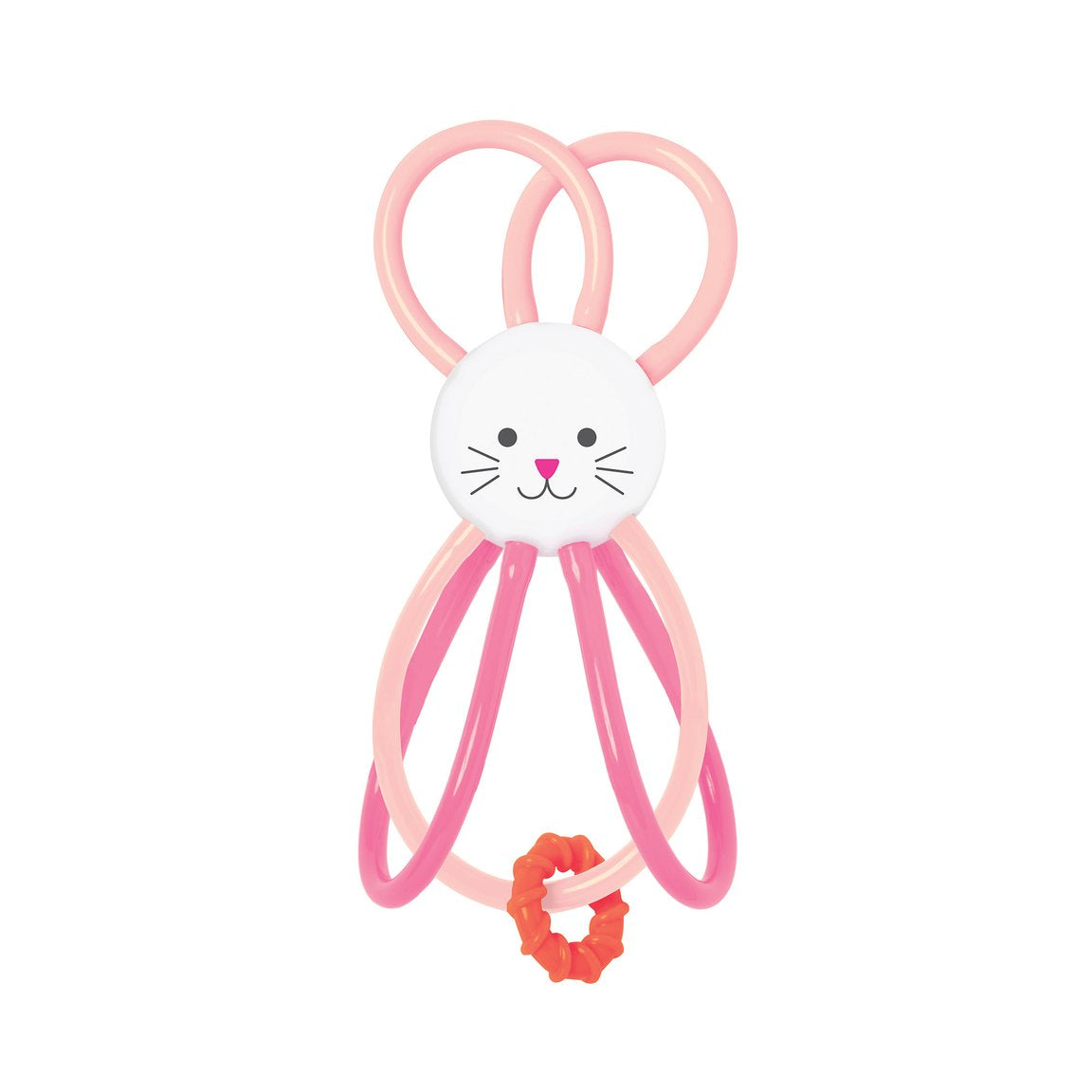 Zoo Winkel Bunny Rattle - Sapling Organic Baby Clothes
