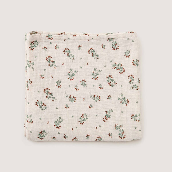 Clover Muslin Swaddle - Garbo & Friends - Sapling Organic Baby Clothes