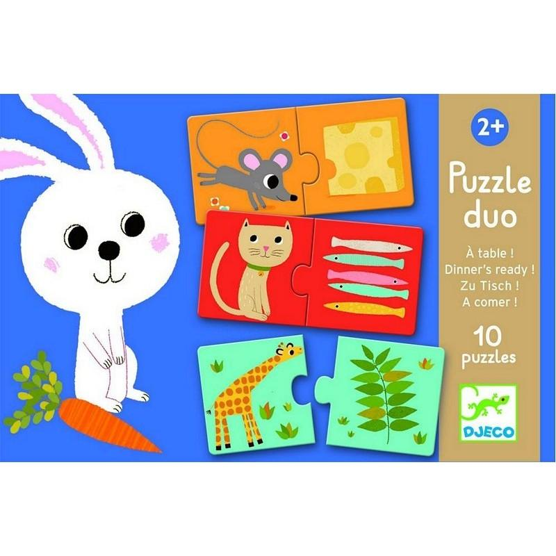 Djeco Puzzle Duo - Sapling Organic Baby Clothes