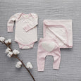 Dusty Pink Long Sleeve Bodysuit - Sapling Organic Baby Clothes