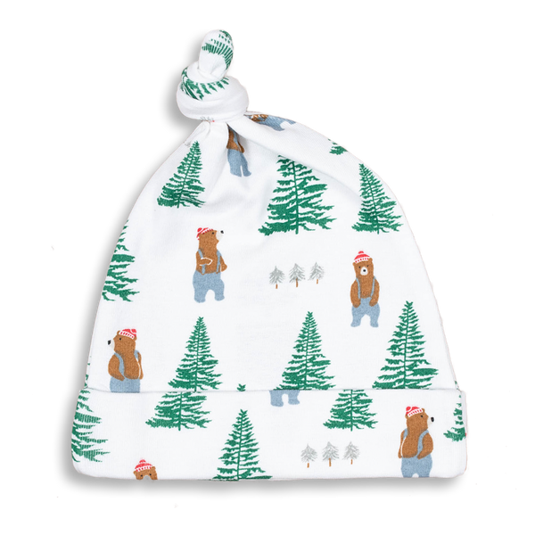 Lumberjack Knotted Hat - Sapling Organic Baby Clothes