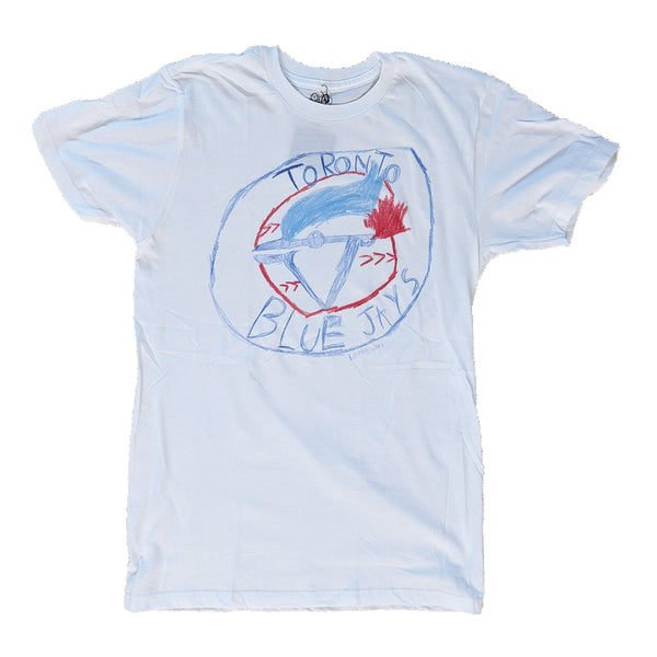Blue Jays Tee - Sapling Organic Baby Clothes