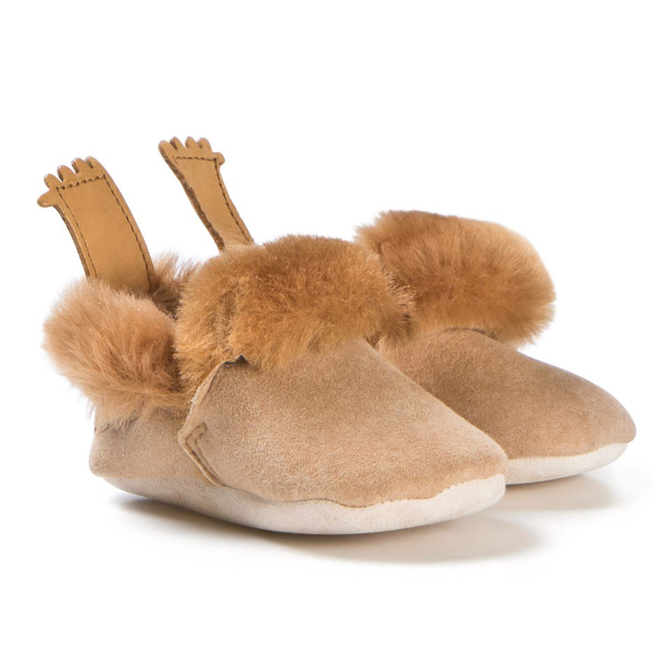 Shearling Mocassins - Sapling Child Canada