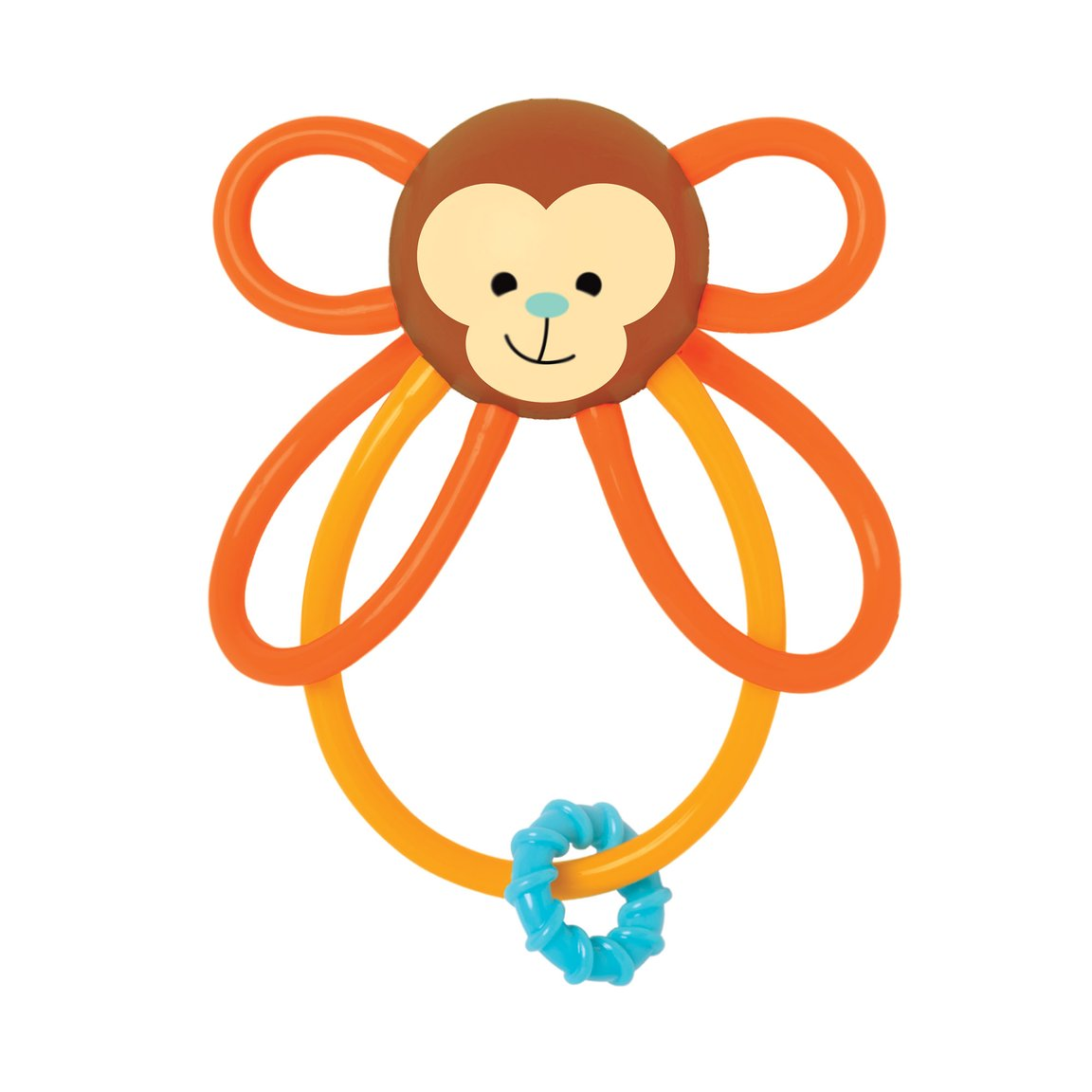 Zoo Winkel Monkey Rattle - Sapling Organic Baby Clothes