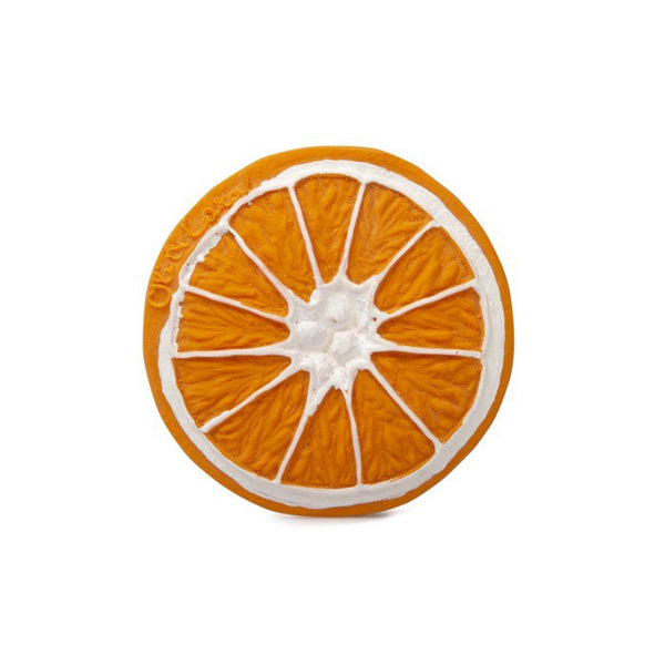 Orange Teether - Sapling Organic Baby Clothes