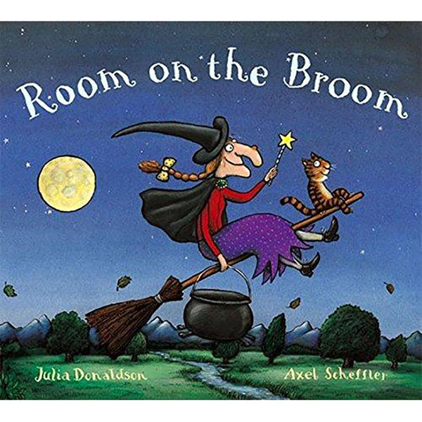 Room on the Broom (hard cover) - Sapling Organic Baby Clothes