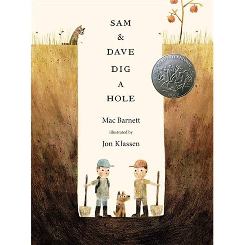 Sam and Dave Dig a Hole - Sapling Organic Baby Clothes