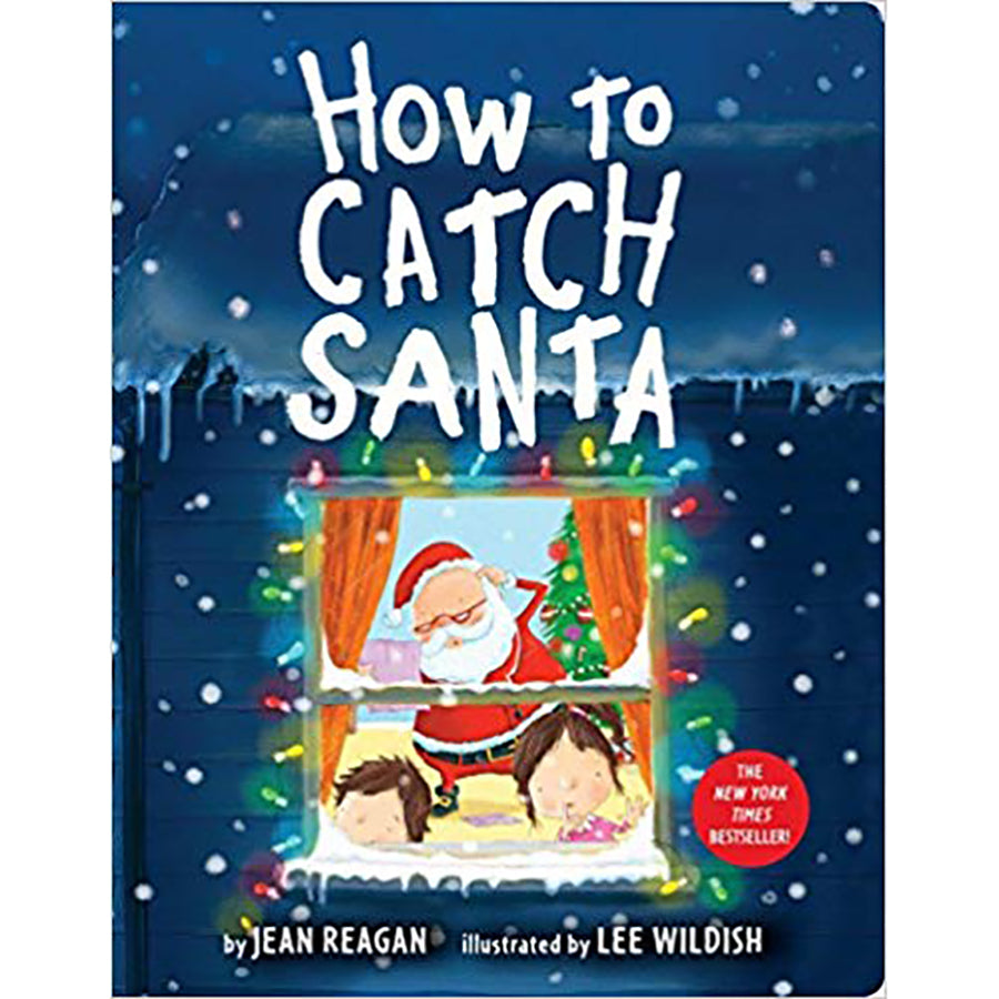 How to Catch Santa Board Book - Sapling Organic Baby Clothes