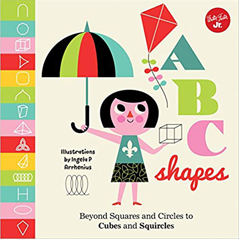 ABC Shapes Board Book - Sapling Organic Baby Clothes