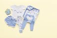 Ocean Blue Shorts - Sapling Organic Baby Clothes