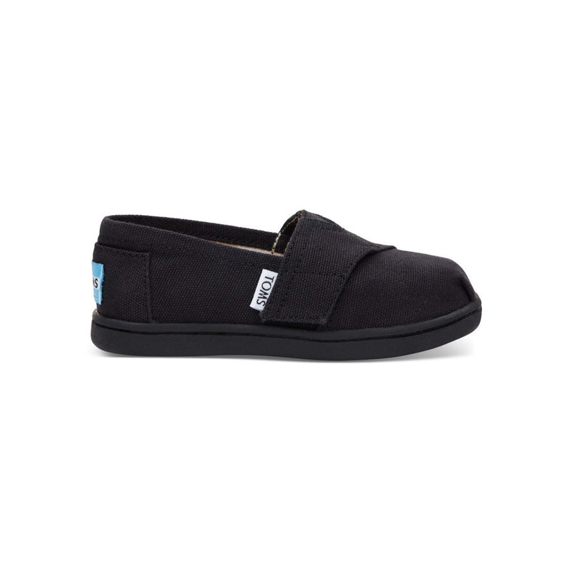 Toms Little Girl's Tiny Toms Canvas Classic Shoes