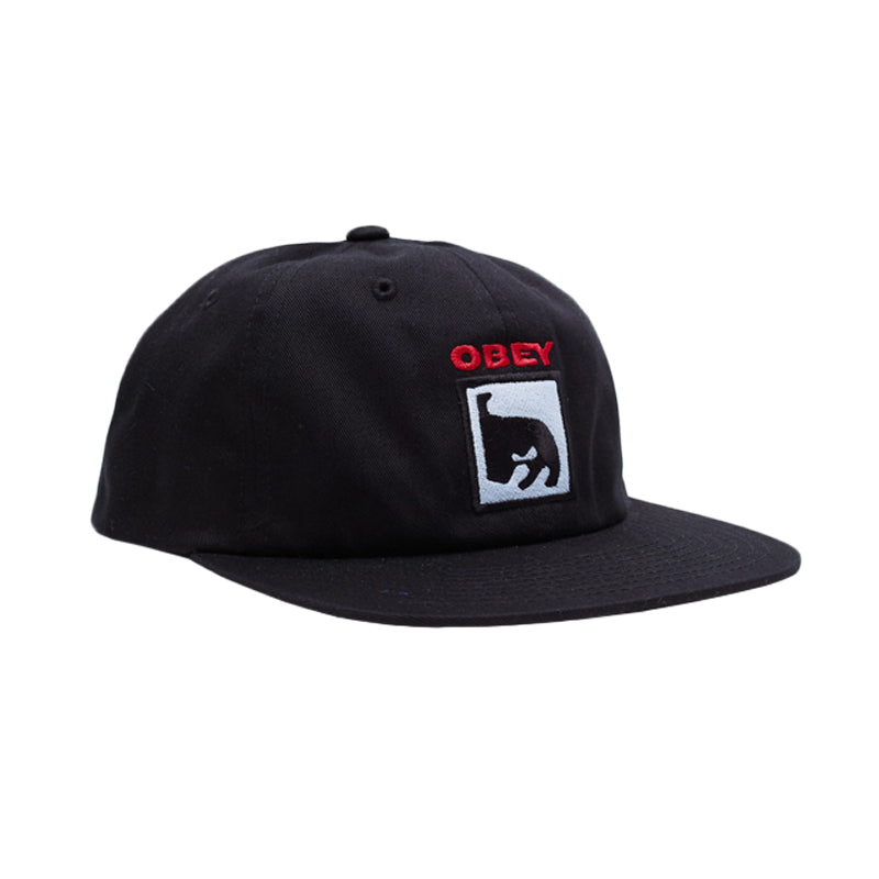 Obey Champion 6 Panel Snapback Hat
