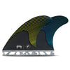 Futures Mayhem Medium Honeybomb Carbon Thruster Fin Set