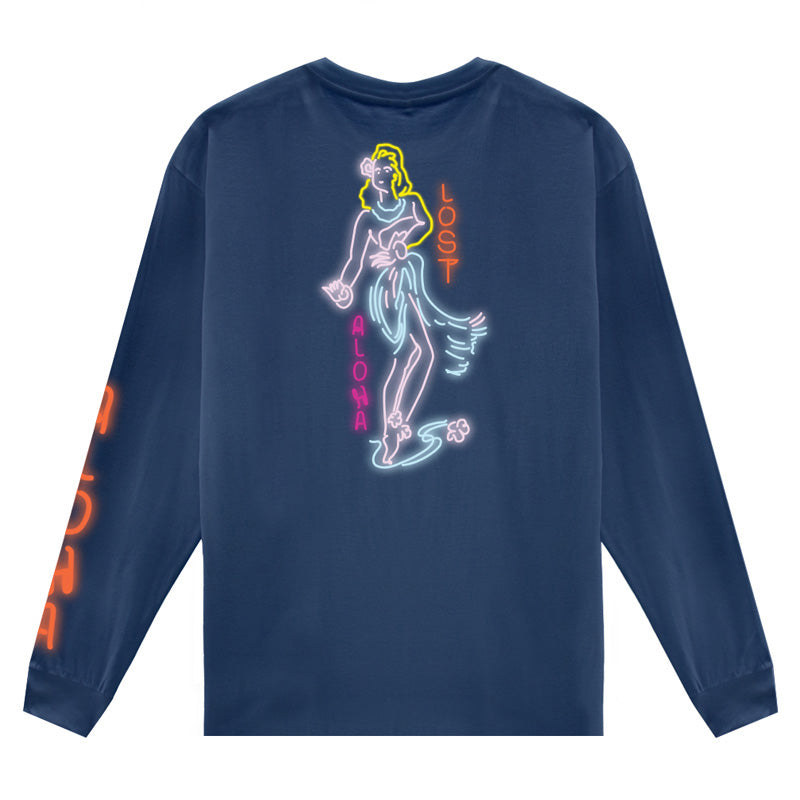 Lost Men's Town Girl L/S Basic Tee FA19