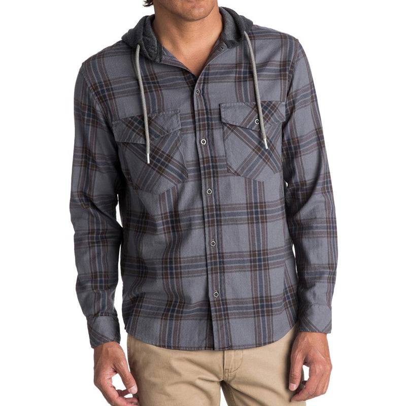 The Magston Button Up Hooded Flannel (Past Season )