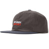 Washed 2-Tone Strapback Hat