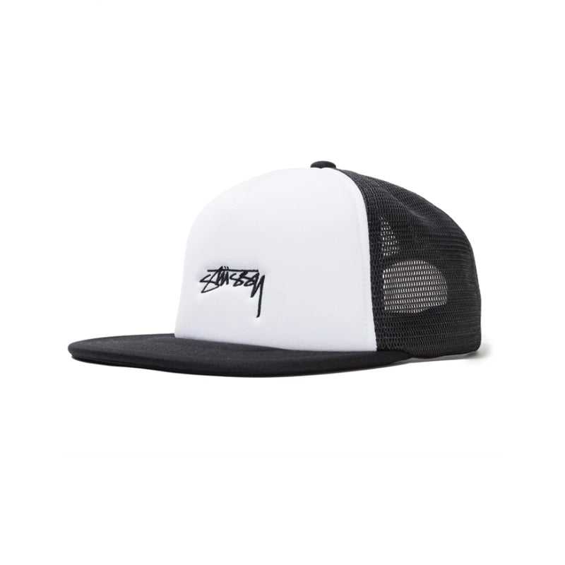 Stussy Smooth Stock Foam Trucker Hat