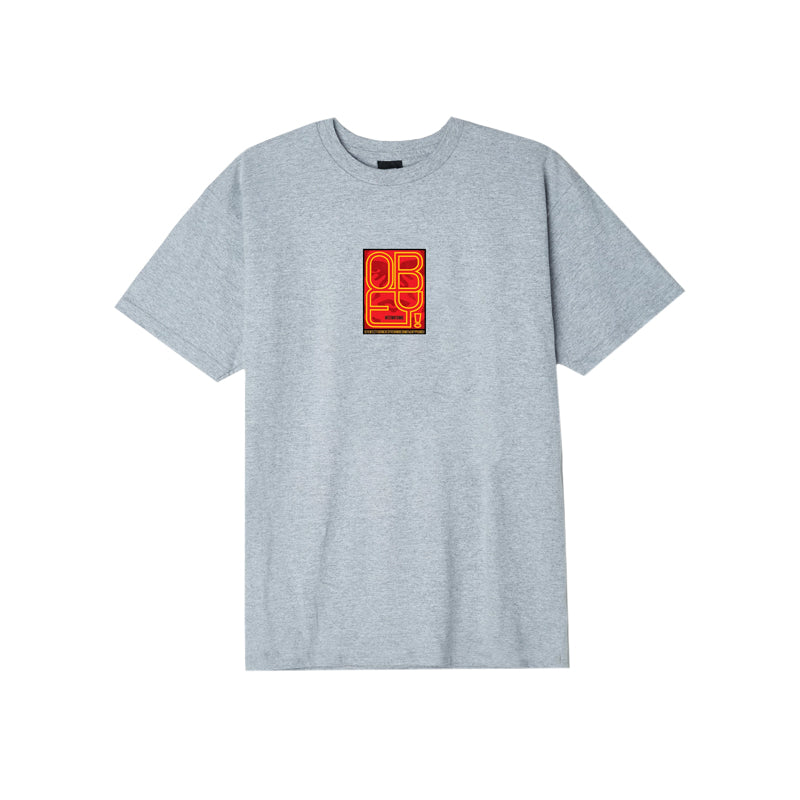 Obey Type (Icon) Face Short Sleeve T-Shirt