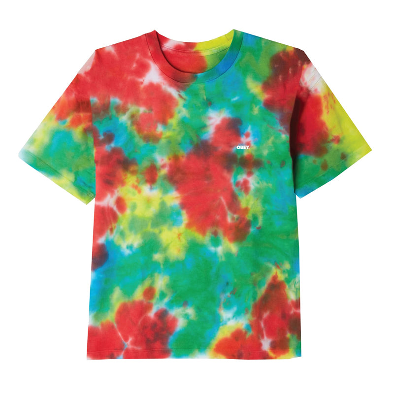 Obey Men's Bold Heavyweight Tie Dye S/S Tee FA19