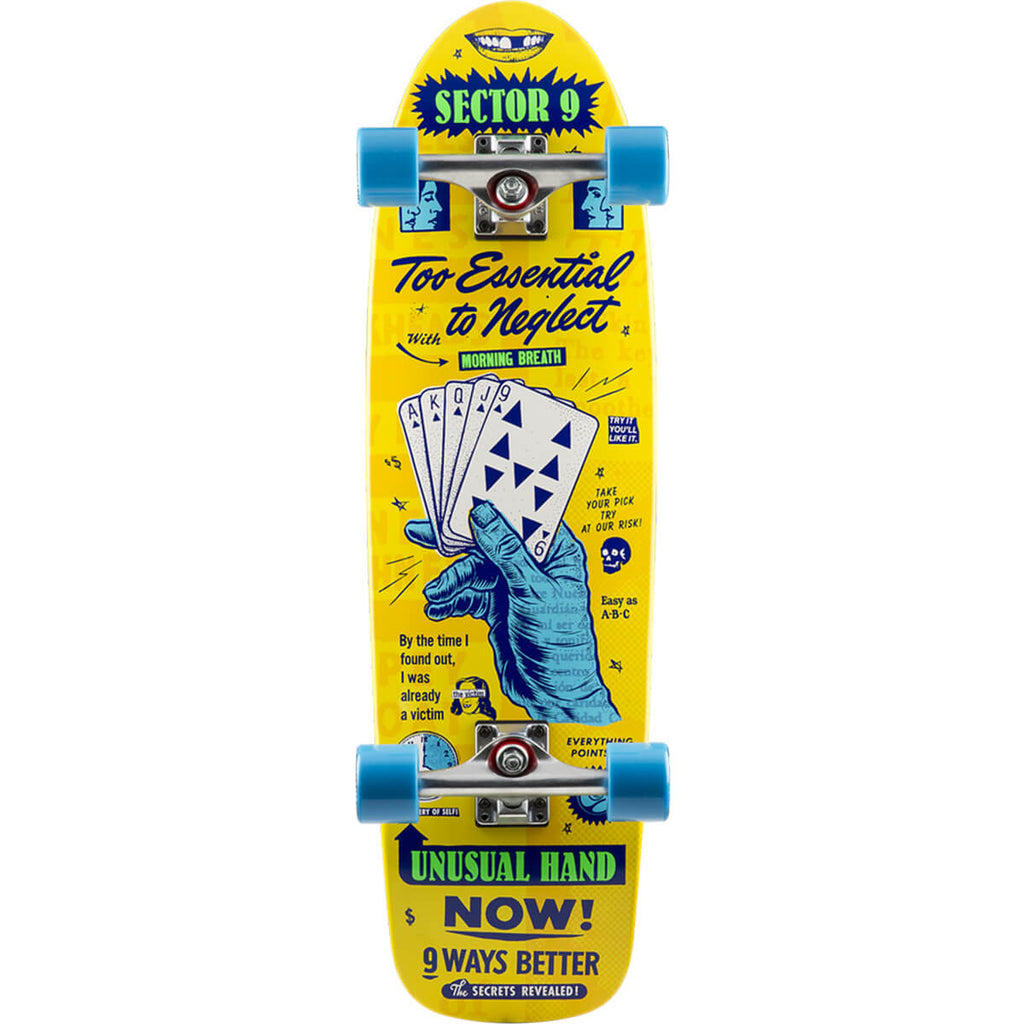 "Sector 9 Royal Flush Morning Breath 30.5"" Complete Cruiser"