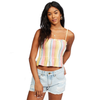 Keep Your Cool Woven Crop Top