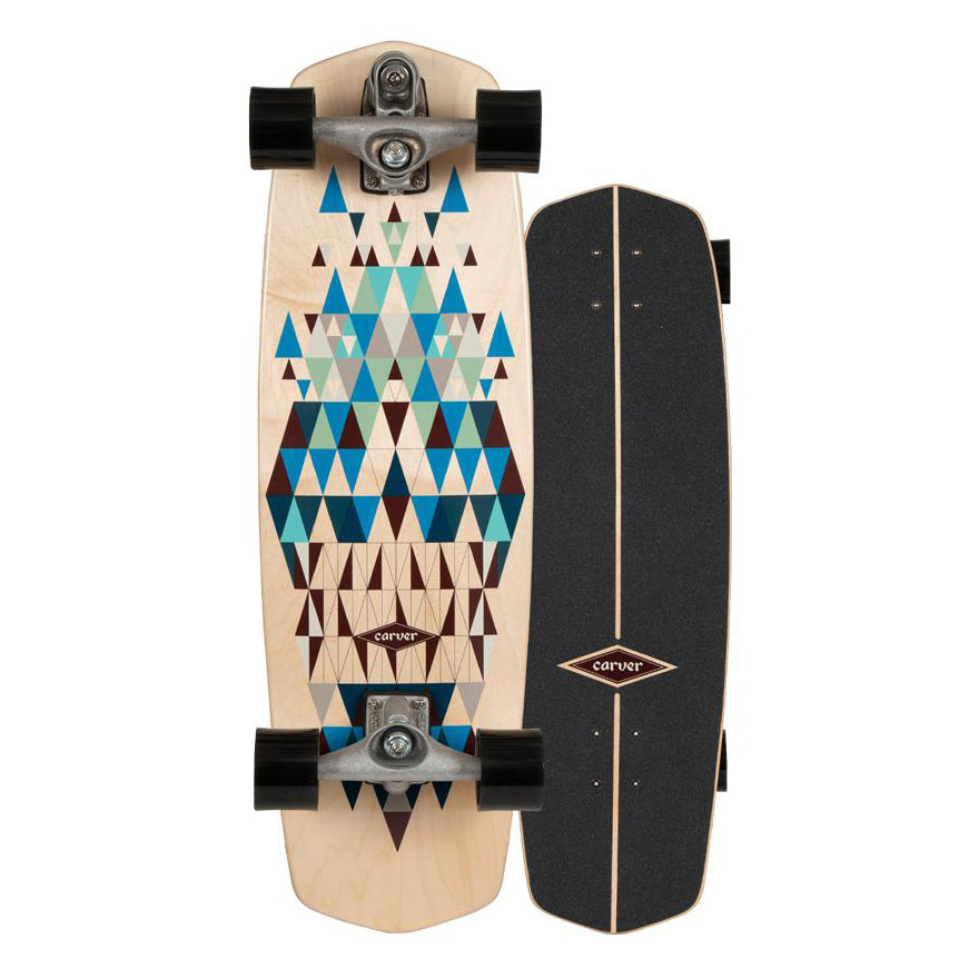 "C7 Raw 30.5"" Prisma Surfskate Complete 2020"