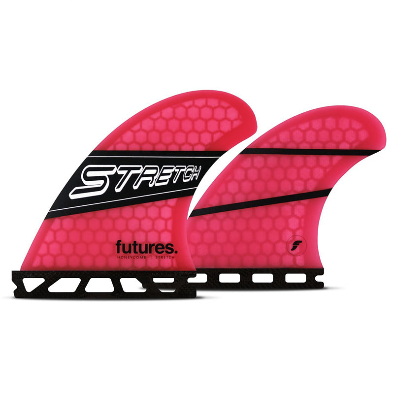 Futures Stretch Quad Honeycomb Fin Set